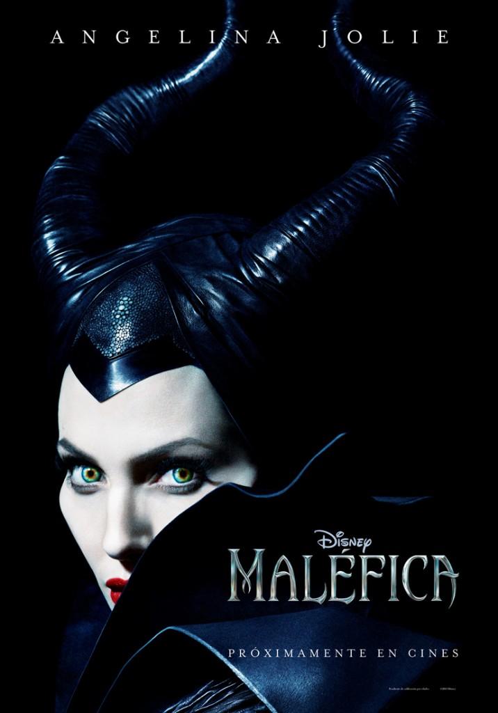 Primer póster oficial de la película 'Maléfica'