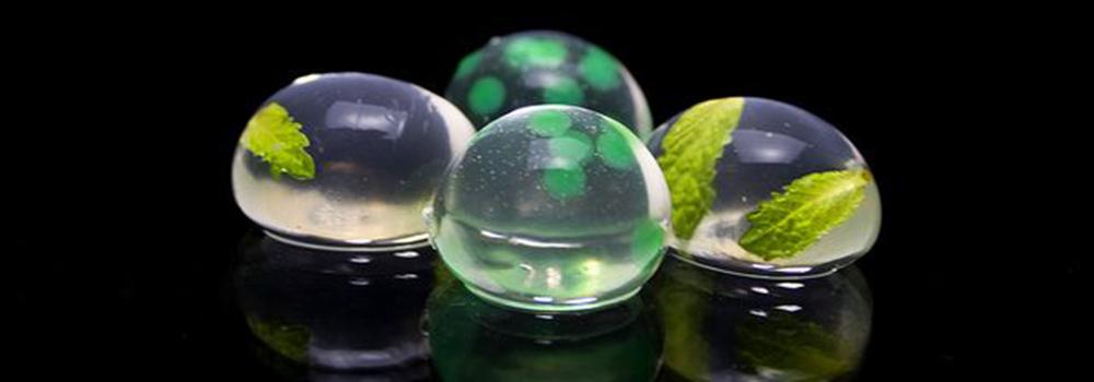 A qu saben las esferas a explosi n de texturas for Que es la comida molecular