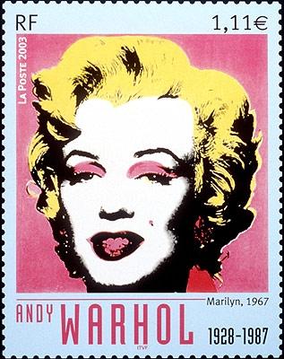 sello de Marilyn