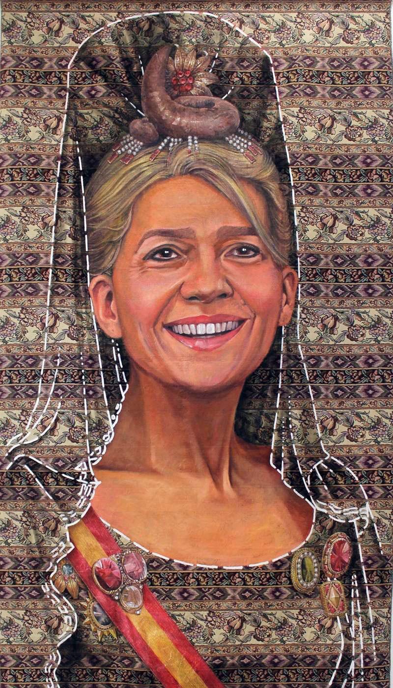 La infanta Cristina (Ausín Sainz)