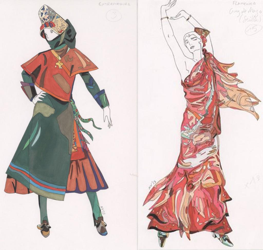 Diseños de Nicolas Vaudelet para 'Sorolla' - 2013