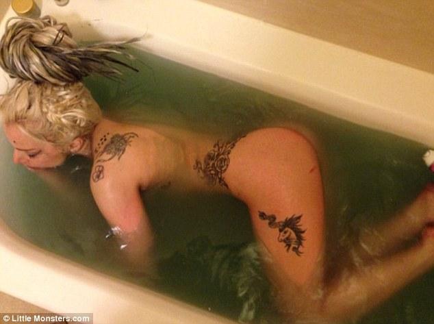 Lady Gaga tras el show (Instagram)