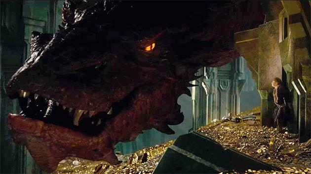 Smaug de El Hobbit