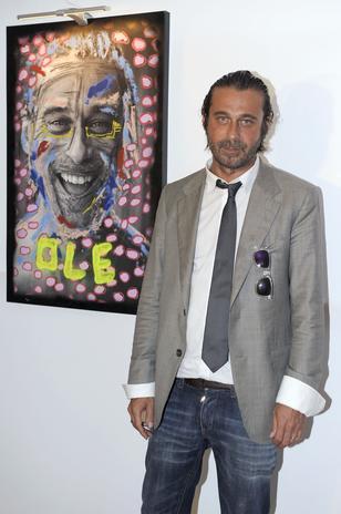 Jordi Mollá en una exposición en Madrid