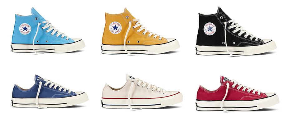 Colección Converse All Star Chuck' 70