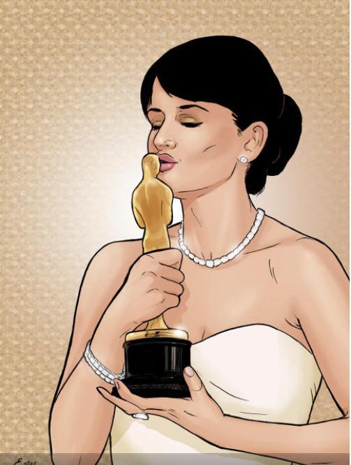 Penélope Cruz en una imagen de su cómic