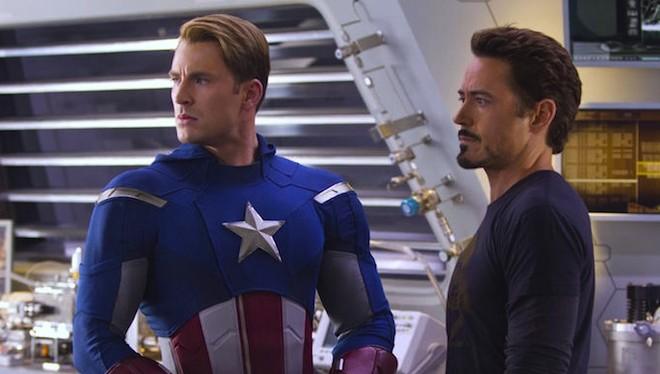 Chris Evans y Robert Downey Jr