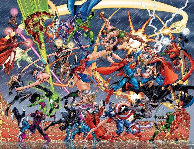 Marvel vrs. DC: La guerra empieza en los cines