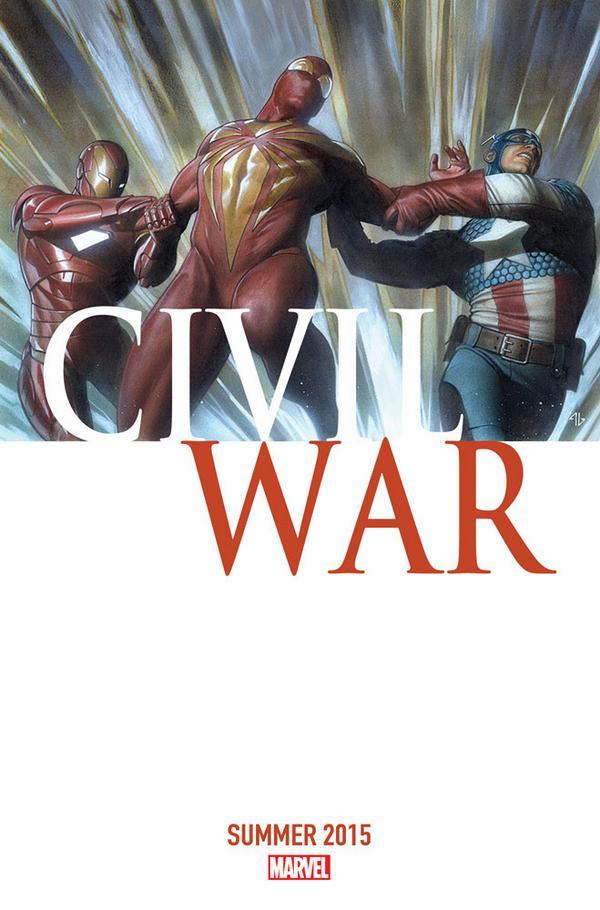 Portada de la próxima Civil War de Marvel anunciada para 2015