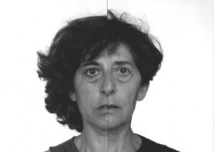 Esther Ferrer - Serie: El libro de las cabezas - Autorretrato en el tiempo 1981/2004