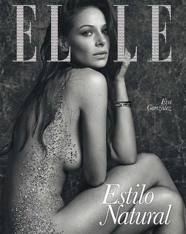 Eva González para 'Elle'