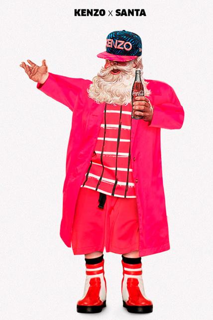 Kenzo X Santa