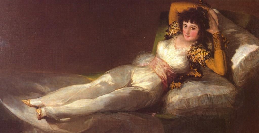 La duquesa de Alba de Goya