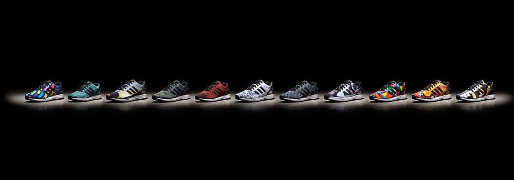 Adidas Zx Flux Blancas Enteras