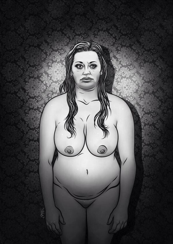 Belén Esteban, desnuda por Ismael Álvarez