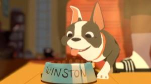 Winston protagonista de Feast