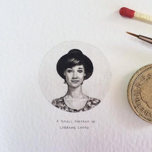 Lorraine Loots autorretrato