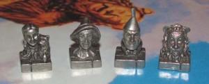 Piezas Monopoly El Mago de Oz