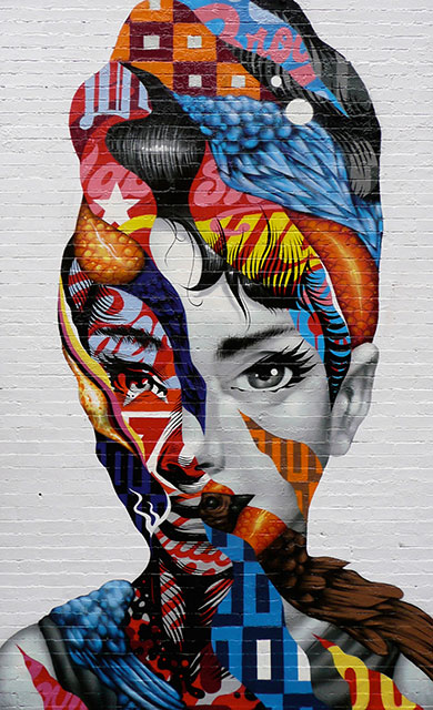 Audrey of Mulberry (NYC) - Tristan Eaton