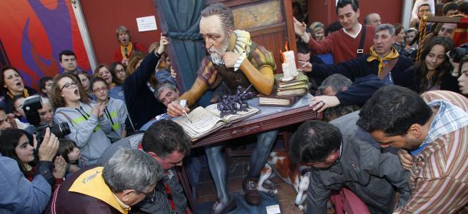 'El Cervantes de Quart Extremurs i Velazquez' - Pedro Simarro