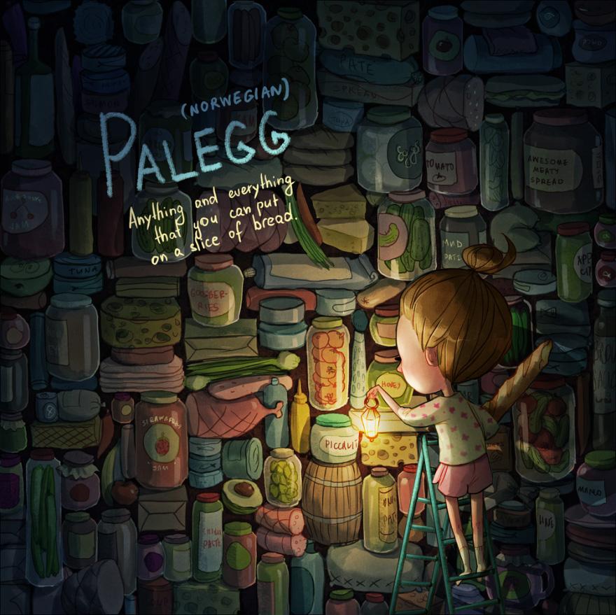 'Palegg': Cualquier cosa que puedas poner en una rebanada de pan