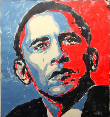 Barack Obama - Brent Ray Fraser
