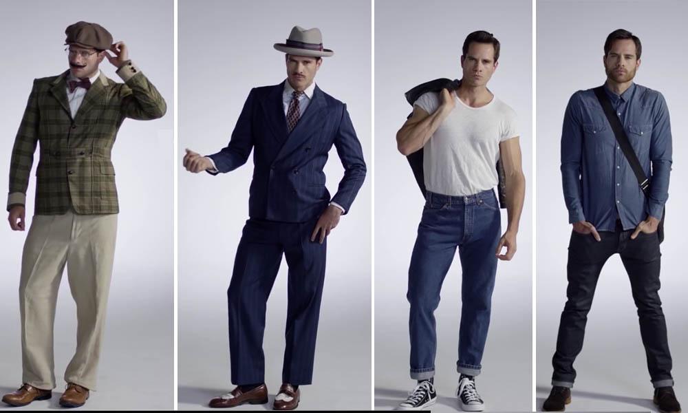 25000bf8a3 100 años de moda masculina resumido en 3 minutos - MalaTinta Magazine