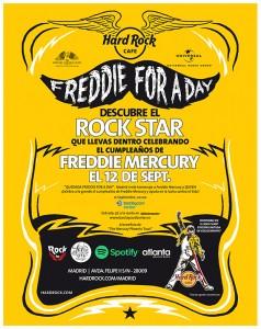 HRC - Freddie For A Day 2015