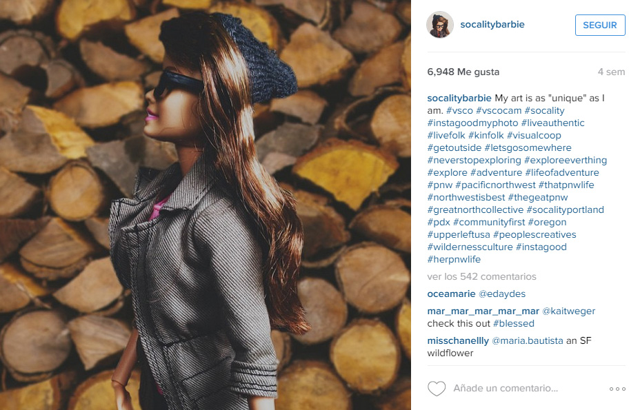 Imagen de la cuenta de Socality Barbie