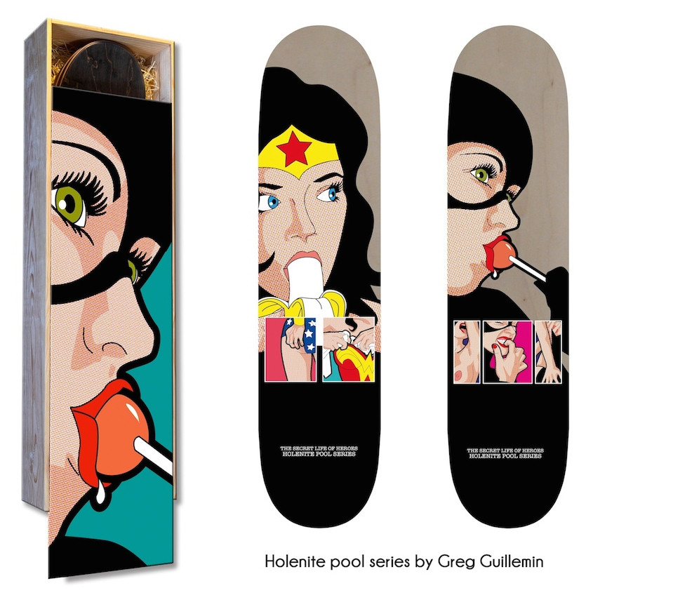 Limited Edition Secret Heroes  by G Guillemin