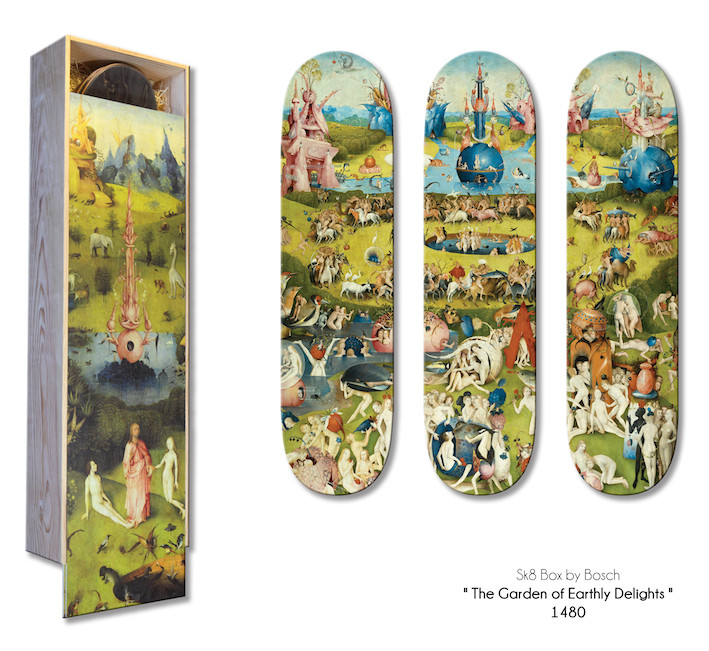 Limited Edition / The Garden of Earthly Delights by Bosh ( 1510 )