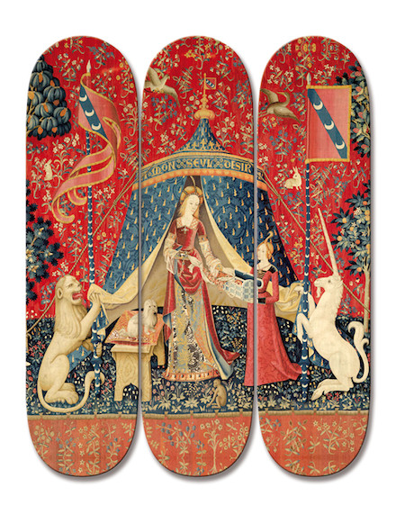 Limited Edition / The Lady and The Unicorn ( Paris 1500 )