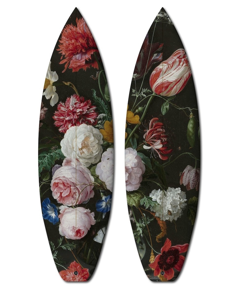 Dyptich Surfboards  Limited Edition  by Jan Davidz de Heen 1606-1684