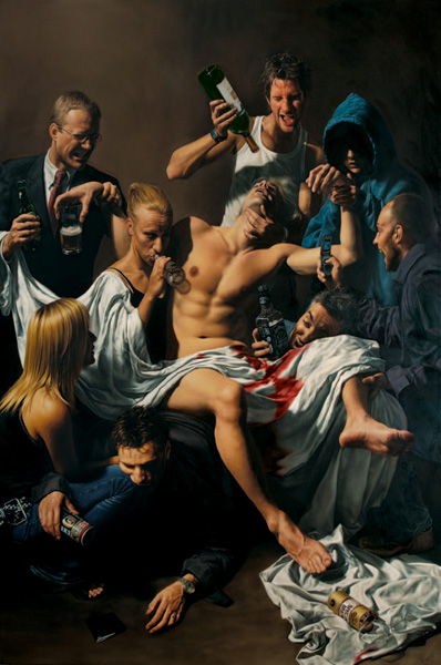 'Inebriated Nation' - Mitch Griffiths