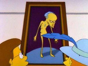 El retrato del señor Burns