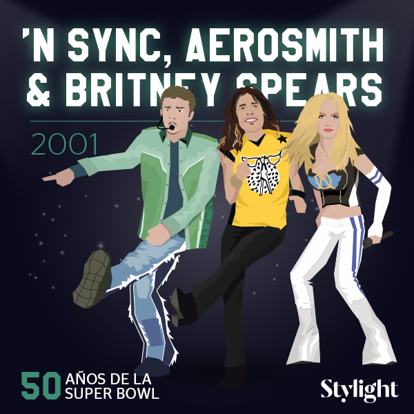 Stylight-Super-Bowl-2001-NSYNC-Aerosmith-Britney-Spears