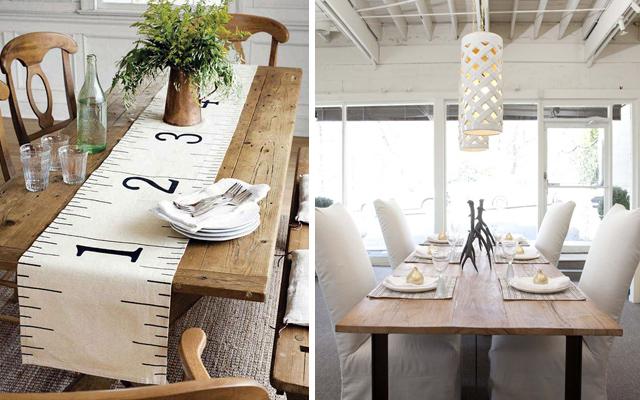 Dale a tu comedor un estilo rustico chic malatinta magazine for Mesas y sillas rusticas