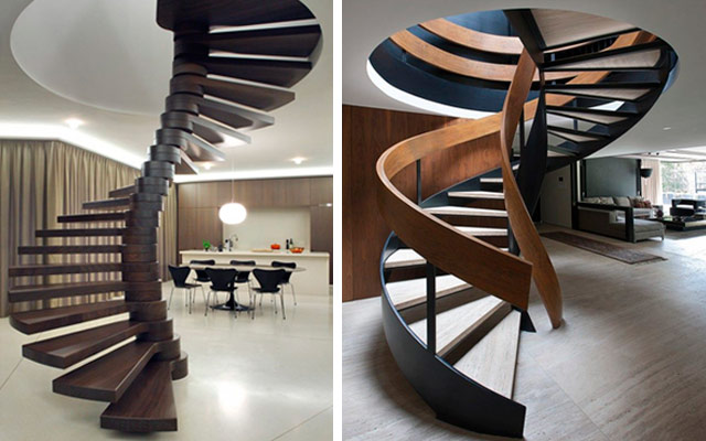 17 escaleras de caracol para subir al cielo malatinta for Escaleras duplex fotos