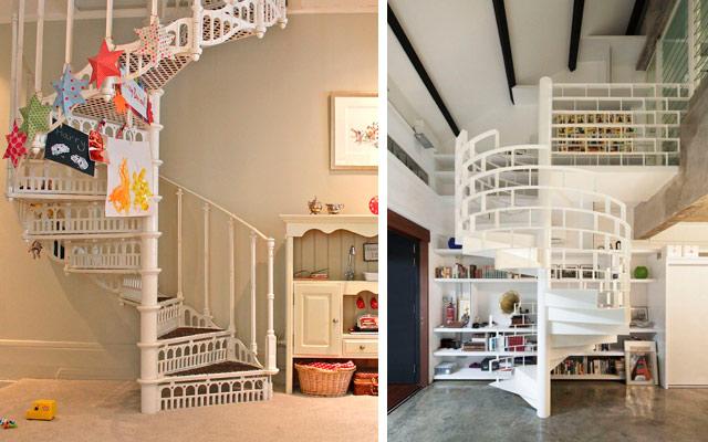 17 escaleras de caracol para subir al cielo malatinta for Imagenes de escaleras de caracol