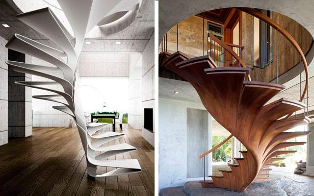 por su parte a diferencia de las escaleras rectas por tramos las de caracol no suelen tener descansillo se sube de abajo a arriba de una tacada