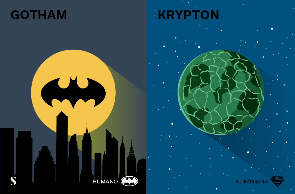 Stylight - Batman v Superman - Gotham y Krypton