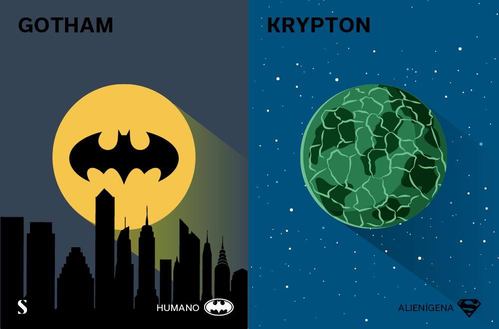 Stylight - Batman v Superman - Gotham y Krypton