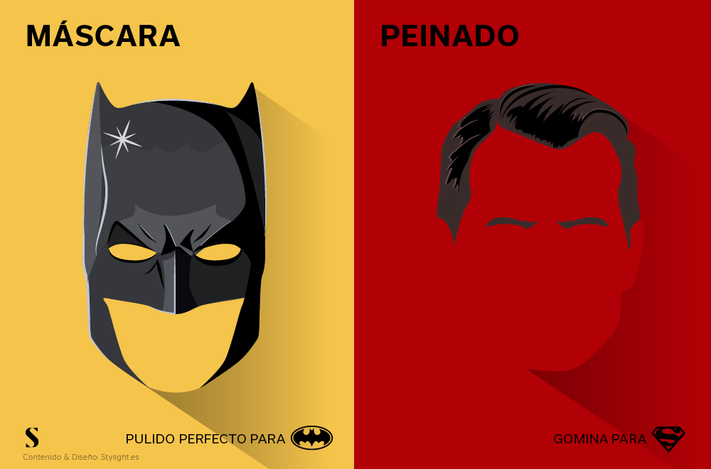 Stylight - Batman v Superman - Peinado