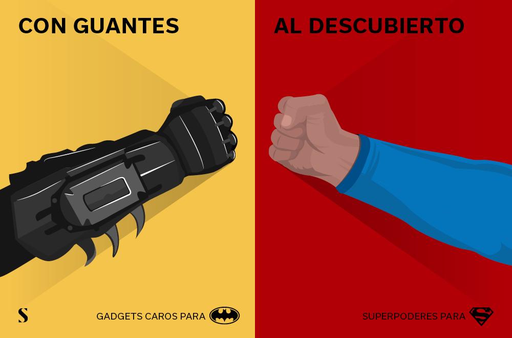 Stylight - Batman v Superman- Superpoderes y Gadgets