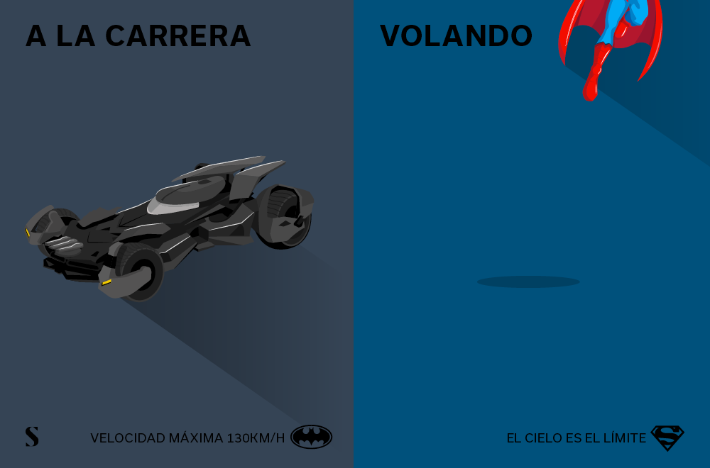 Stylight - Batman v Superman - Transporte
