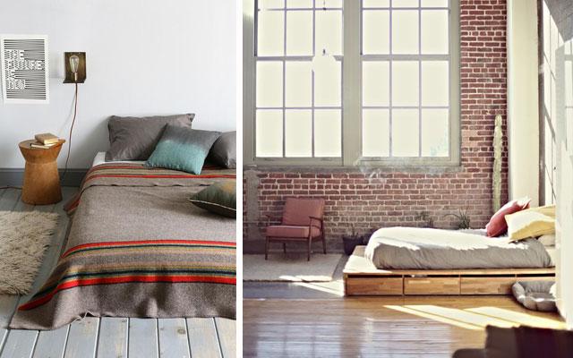 12 ideas de camas bajas a dormir al suelo malatinta - Decoracion de camas ...