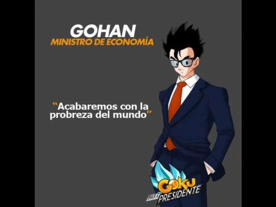 Goku for president
