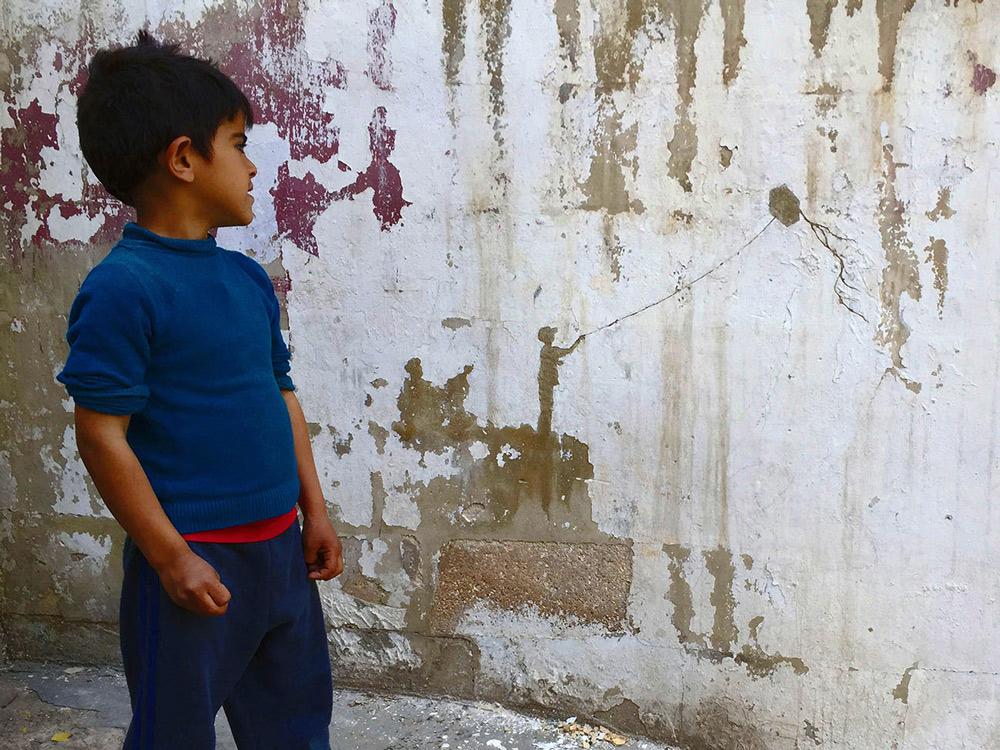 PEJAC: 'Kite' - Al-Hussein, Palestine Refugee Camp | Amman, Jordan | 2016