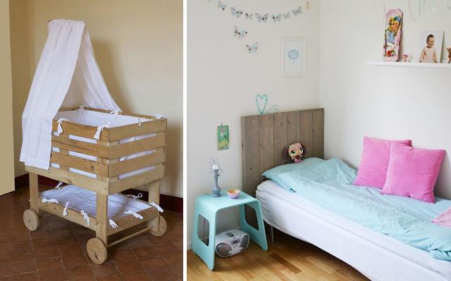 Dormitorio low cost a base de palets malatinta magazine - Ideas originales con palets ...