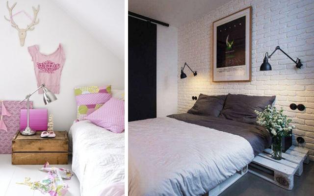 dormitorio low cost a base de palets malatinta magazine